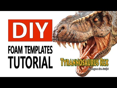 How To Make a T-Rex Templates Tutorial @ Patreon Now