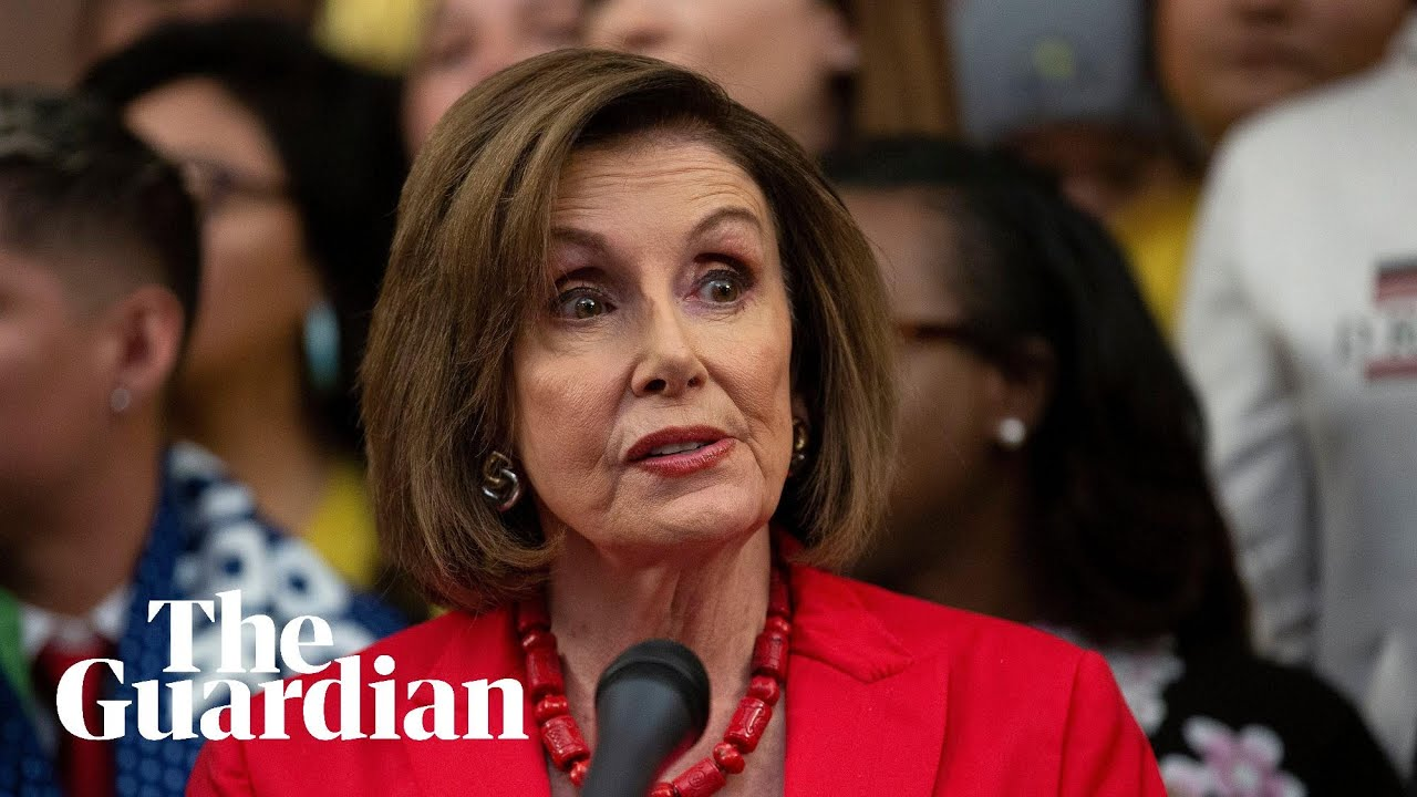Impeachment inquiry: House Speaker Nancy Pelosi says Trump ...