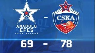 Maç Özeti | Anadolu Efes – CSKA Moskova