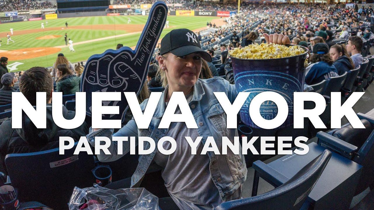 4919641916514 Partido de los Yankees en Nueva York - YouTube
