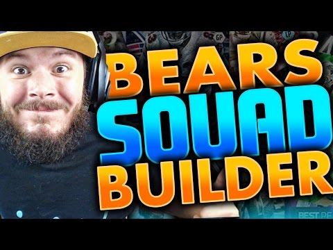 ALL-TIME CHICAGO BEARS SQUAD BUILDERS & GAMEPLAY | MADDEN 16 ULTIMATE TEAM