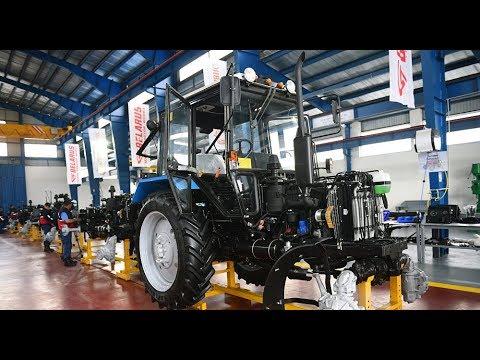 Таджикистан начал поставлять тракторы в Узбекистан/Новости Таджикистан(10.01.2019)