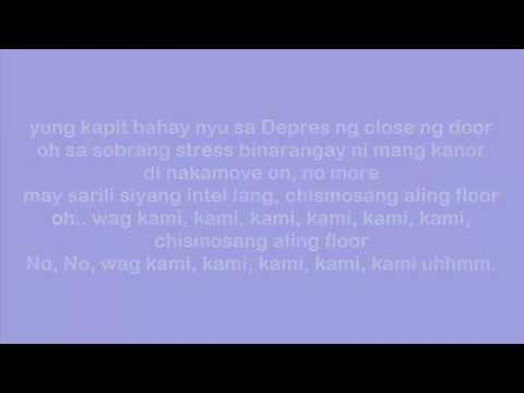 Versace on the floor (Tagalog Version)