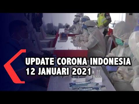 Update Corona 12 Januari, 846.765 Positif, 695.807 Sembuh, 24.645 Meninggal