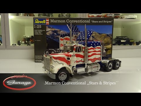 1:25 Revell Marmon Conventional Stars & Stripes Review  How to build / Baubericht