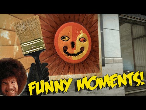 CS:GO FUNNY MOMENTS - PAINTING IN COUNTER STRIKE,  BIGGEST TROLL EVER