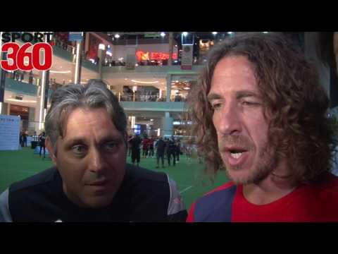 Barca legend Carles Puyol refuses to be drawn on new manager