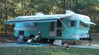 Vintage Travel Trailer Restoration 1970 Holiday Rambler