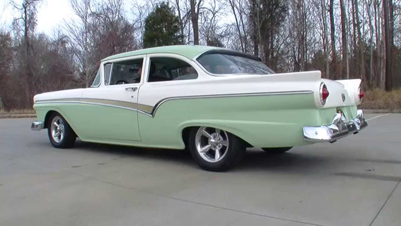 135004 1957 Ford Custom 300 Youtube