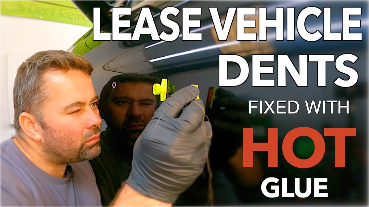 MULTIPLE DENTS Repaired With HOT Glue | Paintless Dent Removal | By Dent-Remover