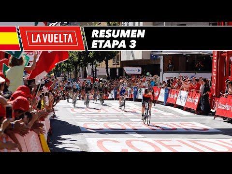 Resumen - Etapa 3 - La Vuelta 2017