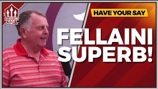 Fellaini Was Immense! Burnley vs Manchester United 0-2 Fan Cam
