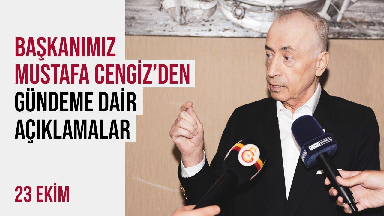 Başkanımız Mustafa Cengiz'den gündeme dair açıklamalar...