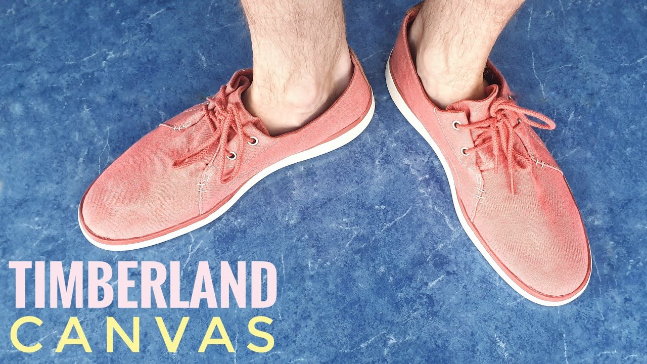 personal Acorazado ética  Timberland summer Canvas shoes (Unboxing) Gateway Pier Casual ...