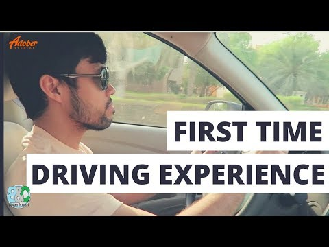 First Time Driving Experience in Dubai Road || Waterfront Market located in Deira