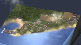 SimCity 4 - Timelapse - Growth of a Coastal Farm Town