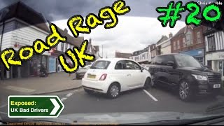 UK Bad Drivers, Road Rage, Crash Compilation #20 [2016]