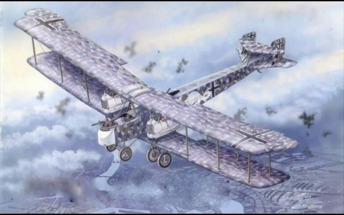 Aviation Art - Big WW I Bombers - YouTube
