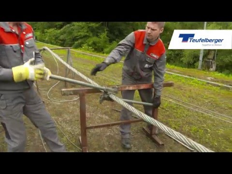 Teufelberger: Seilspleiß