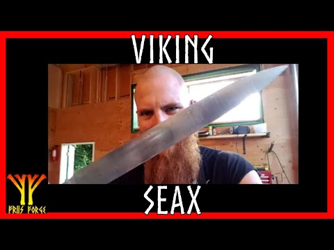 ✔ Historical Seax Recreation: Grinding and Handling
