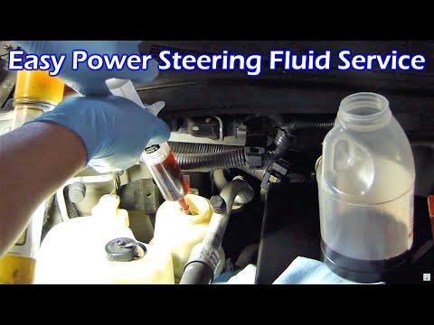 Power Steering Fluid Service (Nissan Quest)