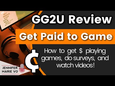 GG2U Review 2020: How to Play Games for Money Online, Taking Paid Surveys and Watching Videos