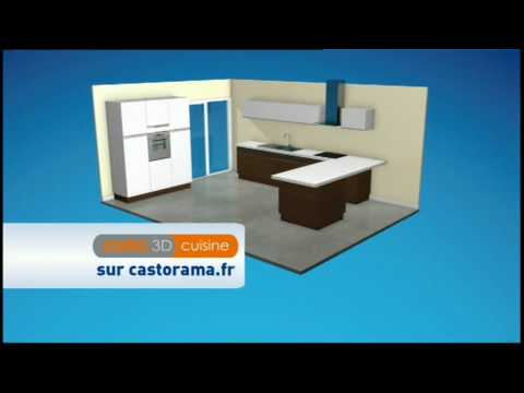 castorama 3d par youtube. Black Bedroom Furniture Sets. Home Design Ideas
