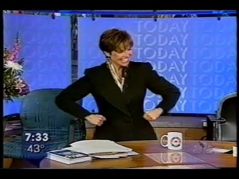 Katie Couric's 10th Anniversary On NBC's Today Show