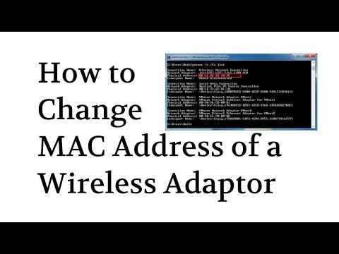 How to Spoof / Change MAC Address of Wireless Adapter by @Tech_Compass