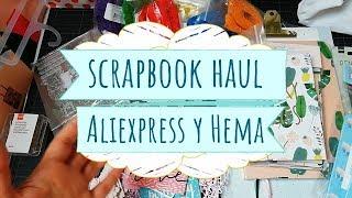Compras Scrapbook Haul en Hema y Aliexpress (con enlaces)