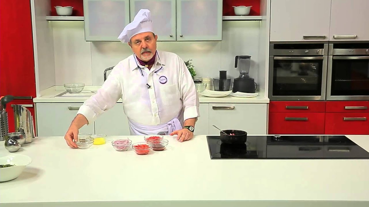 بامية بيضاء - طاجن بامية بلحم الانتركوت : طبخة ونص حلقة كاملة