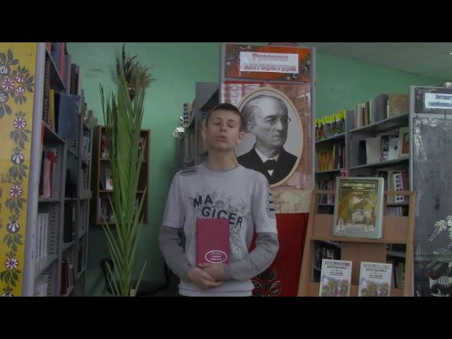 Изображение предпросмотра прочтения – СабинаАлексеева читает произведение «О, вещая душа моя!» Ф.И.Тютчева