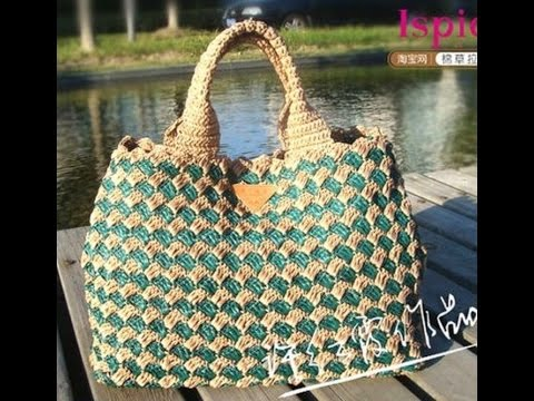 Crochet Bag Youtube : Crochet bag Free Crochet Patterns248 - YouTube