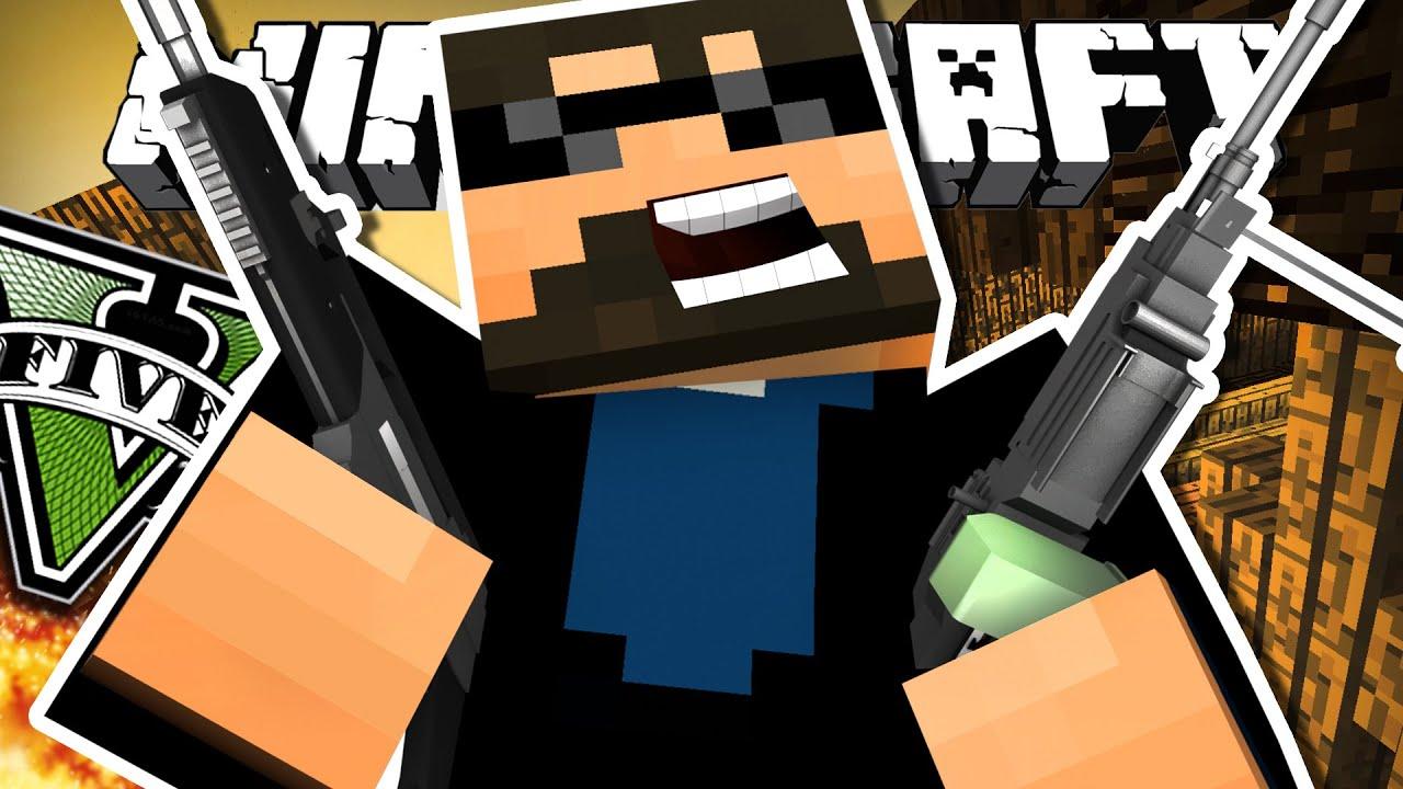 WILL I LIVE OR DIE? (Minecraft GTA V) YouTube