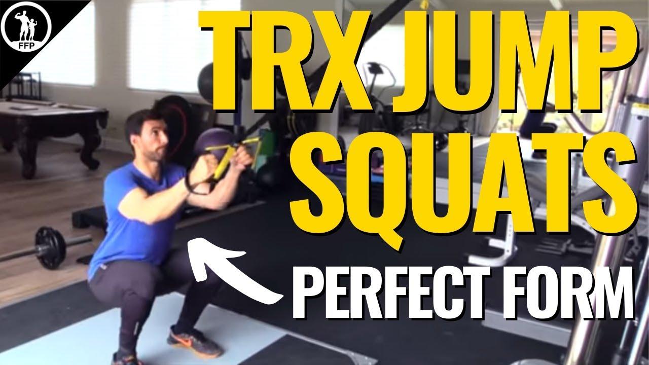 TRX Leg Exercises - How to do TRX squats