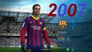 FIFA Online3 - บอลสบายๆสไตล์ Barcelona 2007 #ต้องยอมให้เหยินจริงๆ Ranking1-1