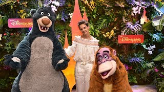 Katie Holmes launched The Lion King and Jungle Book Festival at Disneyland Paris