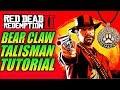 Red Dead Redemption 2 BEAR CLAW TALISMAN TUTORIAL - Silver Chain Bracelet, Quartz Chunk, Bear Claw