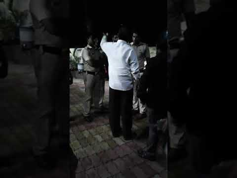 M.L.A Abusing With The policeman At nagpur