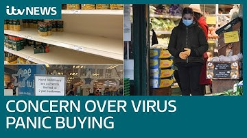 Coronavirus: UK public will have the 'food and supplies they need'   ITV News