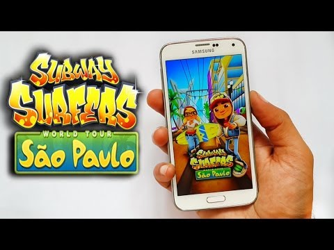 Subway Surfers São Paulo Gameplay Samsung Galaxy S5 Android & iOS HD