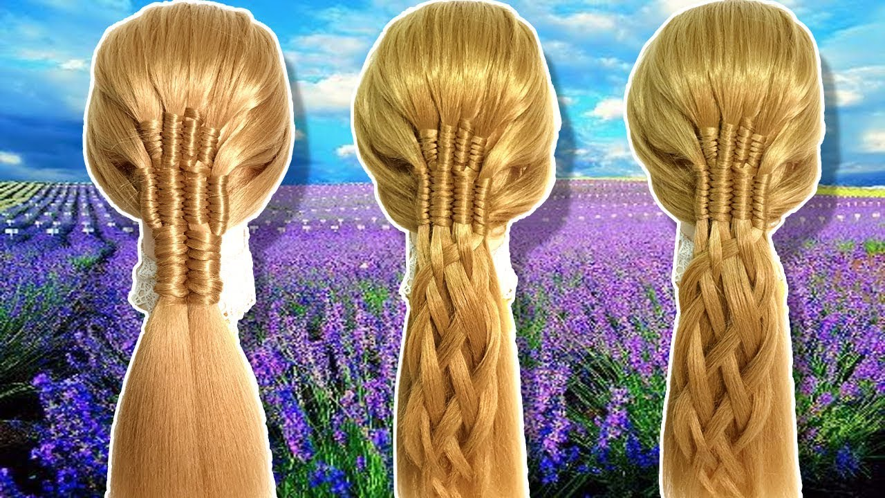 Different hairstyle for long hair 2019 | Hairstyles for Party/wedding/function | Hairstyles for ...