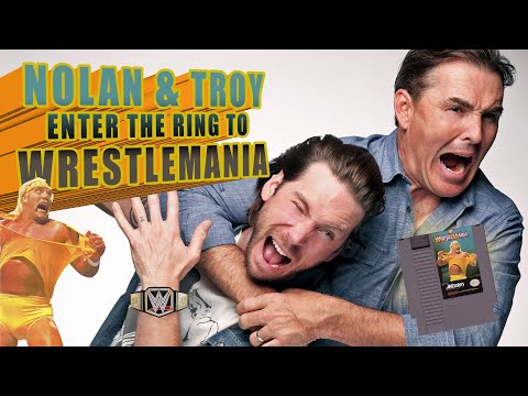 RETRO REPLAY  Nolan North & Troy Baker Enter the Ring to WrestleMania