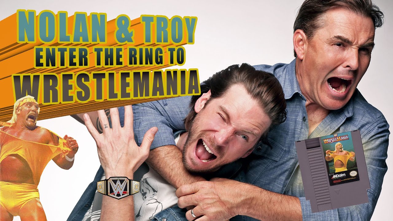 Nolan North and Troy Baker Enter the Ring to WrestleMania