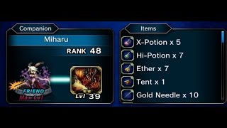 FFBE Global - Lands of Plenty Sept. 2016 (No recovery items used)