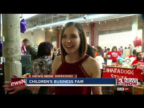 Omaha Children's Business Fair encourages young entrepreneurs
