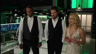 Arrow 6 temporada [episódio 9] cayden James ameaça Quentin no arqueiro
