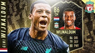 wHAT A CARD!! 86 INFORM WIJNALDUM REVIEW! FIFA 20 Ultimate Team