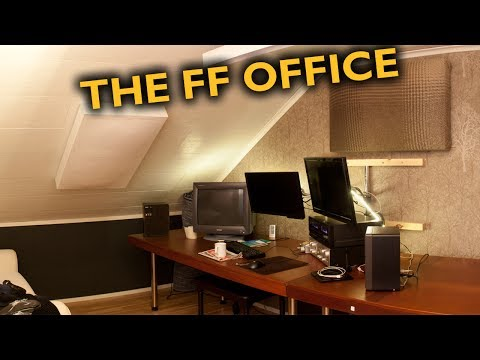 Building myself an office! (w/ electronics repair & acoustic panels)