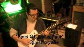 Queensryche - Eyes Of A Stranger - Guitar Lesson by Mike Gross(parts)